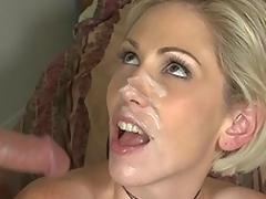 sædsprut milf moden blonde hjem store pupper blowjob bryster deepthroat facial