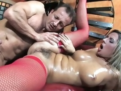 Bushy european milf Daria Glower receives fucked hard