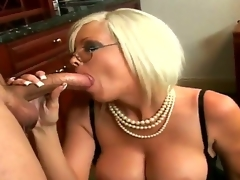 Nasty secretary Jordan Jolie pleases her boss Sergio with a hawt and spicy blowjob session in office