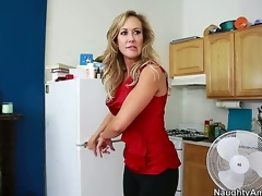 Brandi Love seduces a guy called Tyler Nixon and takes him for a wild milf ride. See her sucking on his dick and working it with her skills before she widens her legs and lets him lick her.