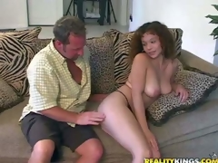 Shes another lovely sexy bodied milf that acquires seduced and banged by MILF Hunter. He touches and licks her pleasing big natural marangos before she takes his prick in her hot mouth. This well-endowed woman likes to suck