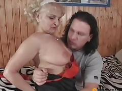 moden blonde fetish