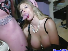 S&M blond real mother I'd like to fuck anal plowed hard