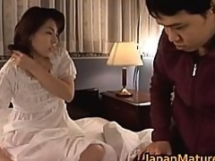 Mature Japanese honey acquires fingered part4