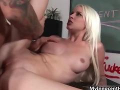 puling hardcore blonde lærer tenåring anal