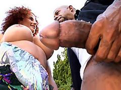 Diesel's Large Chunk For Joslyn's Throat